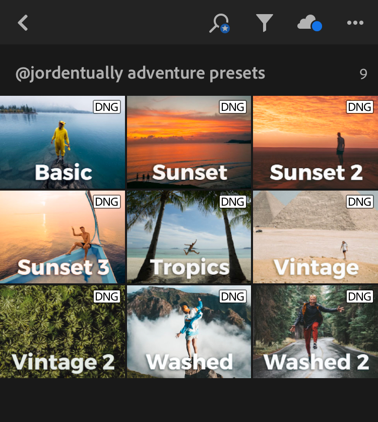 How To Download + Install Mobile Lightroom Presets - Jorden